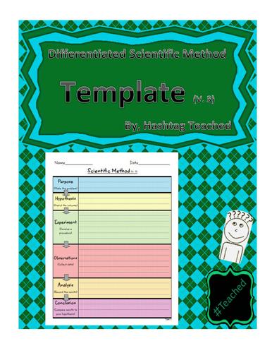 Differentiated Scientific Method Template (Version 3)
