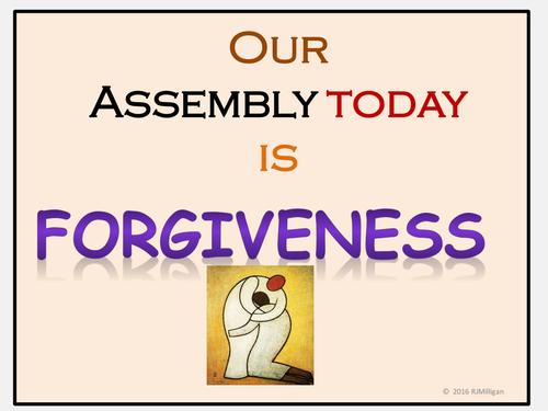 The Lost Son(Prodigal) Parable  (Forgiveness):  Assemblies-Presentation, Teacher's Guide, Playscript