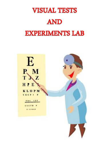 Visual Tests and Experiments Lab - Anatomy