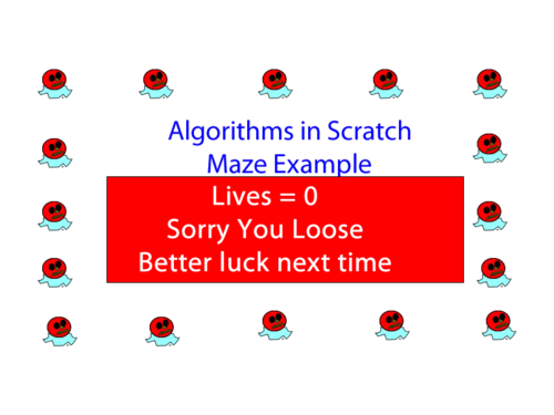 Algorithms in Scratch Lesson 6