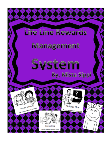 Life Line Reward System Printable