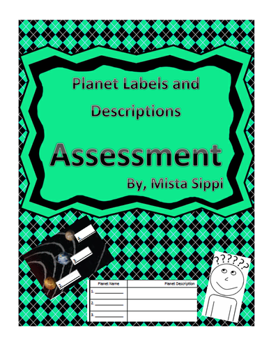 Planet Labels and Descriptions Printable