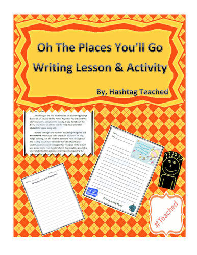 Reflective Writing Lesson (Inspired by Dr. Seuss's Oh The Places You'll Go)