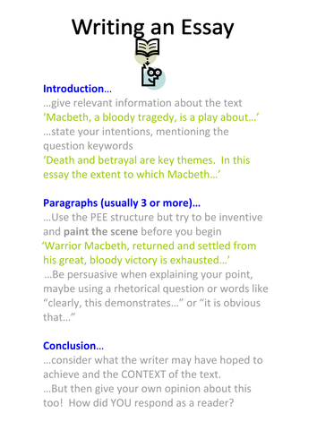 How To Use Pee Differentiated Macbeth Used As An Example By  How To Use Pee Differentiated Macbeth Used As An Example By Cjsmith   Teaching Resources  Tes