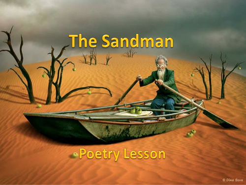 The Sandman - One Off Poetry Lesson