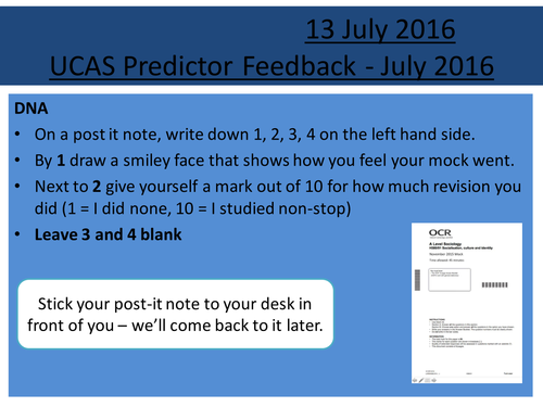 Sociology H580 End of Year 12 Exam (Mock) and Feedback for Section A & B: Family