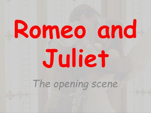 Romeo and Juliet full unit