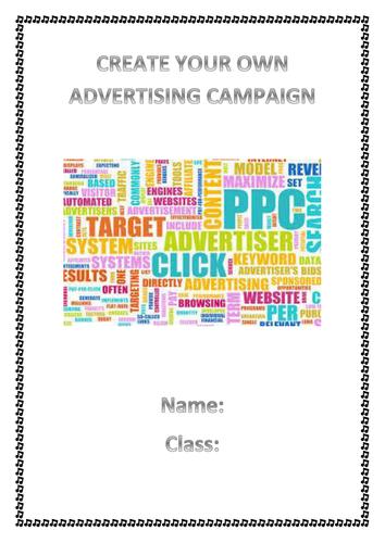 Music Advertising Project KS3 or UKS2