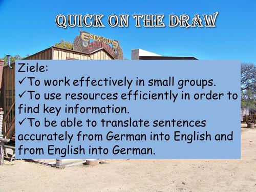 Group work, translation, past tense, grammar, dictation.