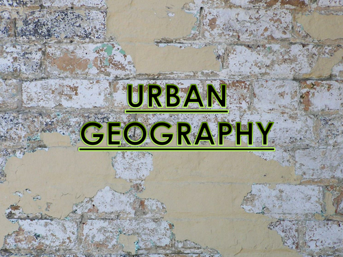 Urban Geography/ Settlement KS3 lesson- What makes a good site for a settlement?