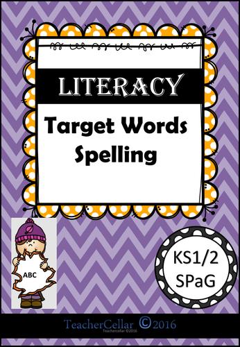 SPAG Target Words 1