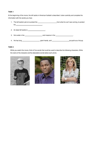 The Blind Side movie questions