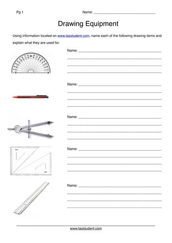 Basic Drawing Equipment