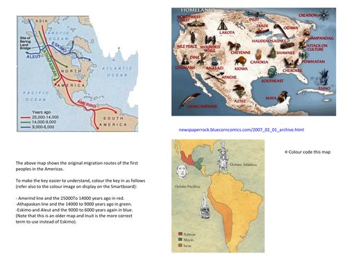 Native Americans and Colonisation of the Americas