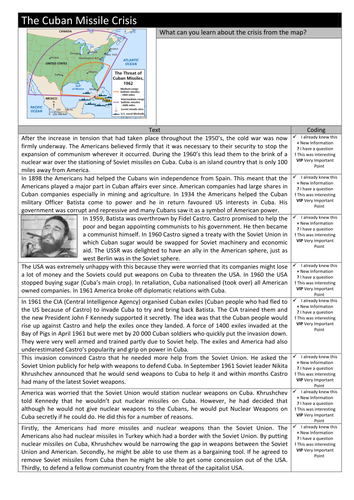 Cuban Missile Crisis By Jmackell Teaching Resources