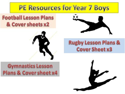 Individual Rugby, Football and Gymnastic Lesson Plans