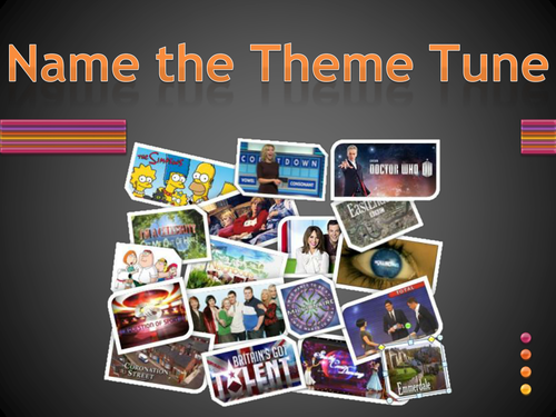 End of Year Quiz - Name The Theme Tune