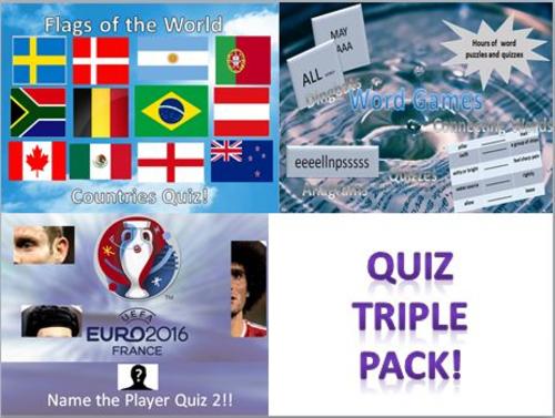 Quiz Triple Bundle Pack