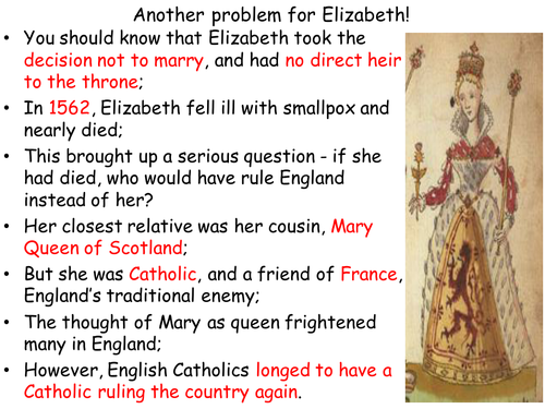 Elizabeth and Mary, Queen of Scots: a de Bono's Thinking Hats activity