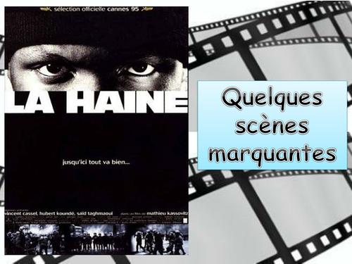 """La Haine"" (Mathieu Kassovitz): Scènes marquantes / Significant scenes in the film  (AQA, 2016, New)"