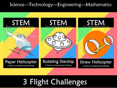 STEM Flight Experiment Challenge Bundle