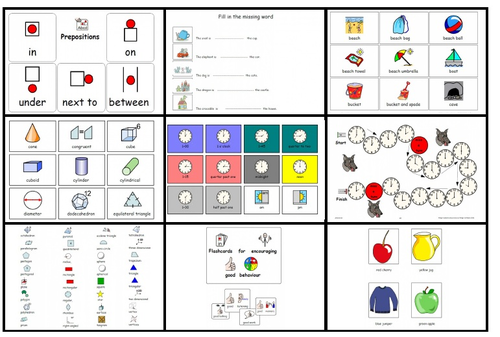BUNDLE Classroom and Home Support Resources