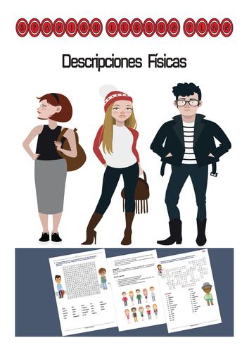 Spanish Lesson Plan: Descripciones Fisicas