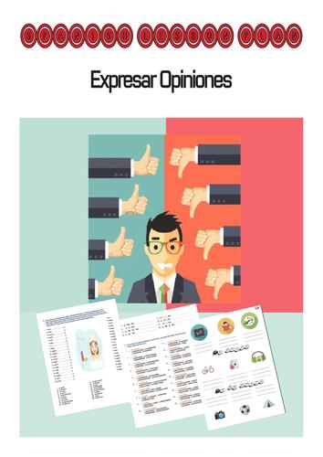 Spanish Lesson Plan: Expresar Opiniones