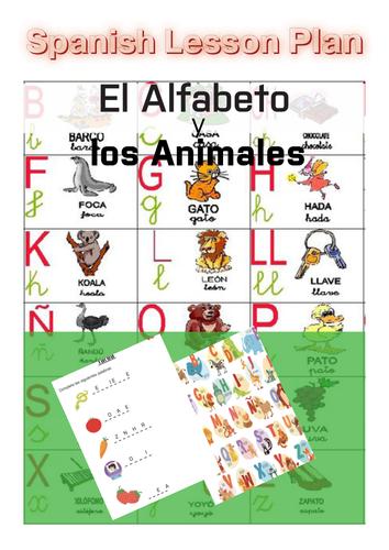 Spanish Lesson Plan: El Alfabeto y los Animales