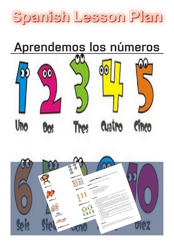 spanish ks2 level 3 ks3 year 7 numbers 0 100 my savings account by uk teaching resources. Black Bedroom Furniture Sets. Home Design Ideas