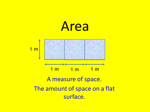Maths KS2 Year 4 Area by counting squares. Engaging activities for area of rectilinear shapes