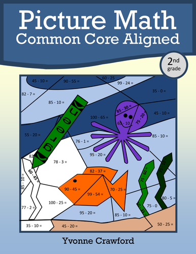 Color by Number (second grade) Color by Addition and ...