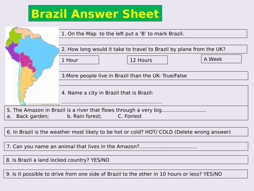 SEND Geography