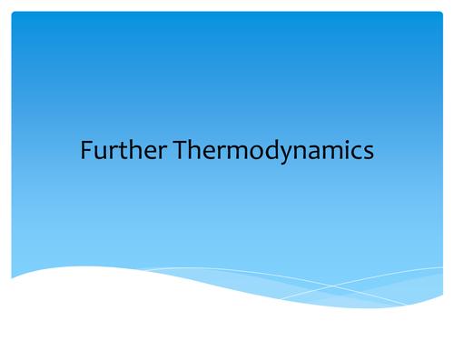 AQA A2 Thermodynamics