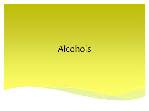 AQA Organic Chemistry AS Level
