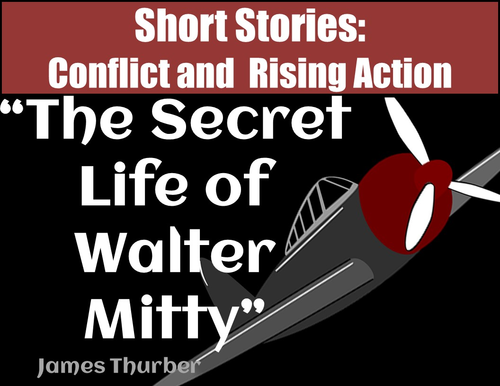 Secret Life of Walter Mitty: Short Story Conflict