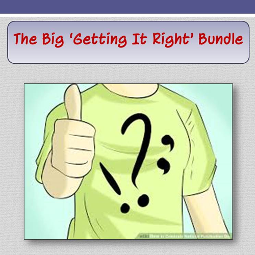 The Big 'Getting It Right' Bundle
