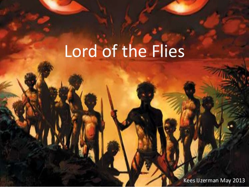 Lord of the Flies Scheme of Work