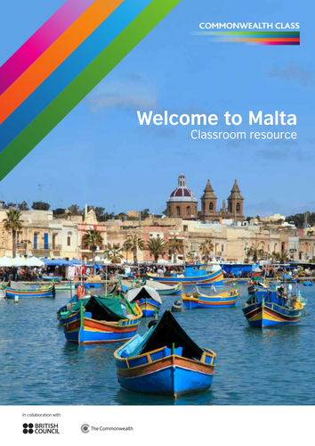 Commonwealth Class: Welcome to Malta Classroom Resource
