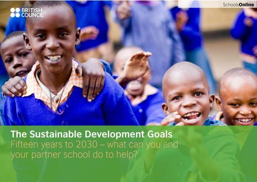 Sustainable Development Goals classroom resource
