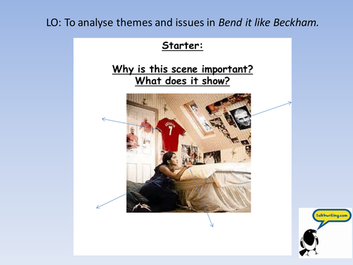 essay about bend it like beckham