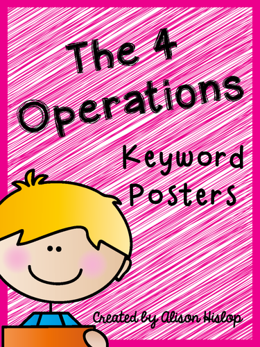 4 Operation Posters