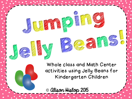 Jumping Jelly Beans - Maths Activities