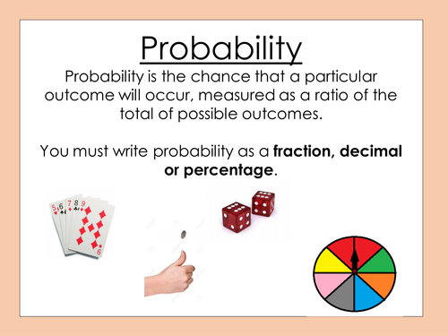Image result for probability poster