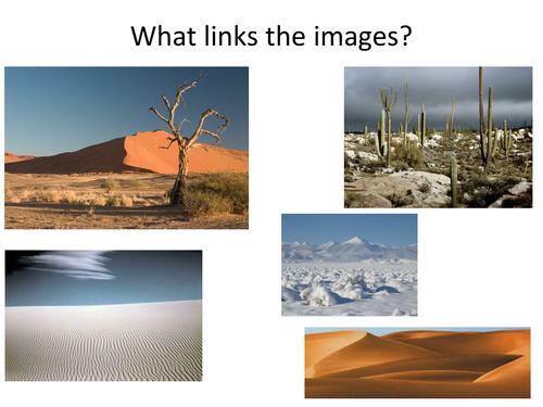 Geography - Desert Environments