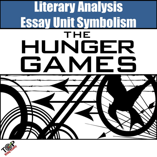 Hunger Games Symbol Analysis Writing Lessons Teaching Resources