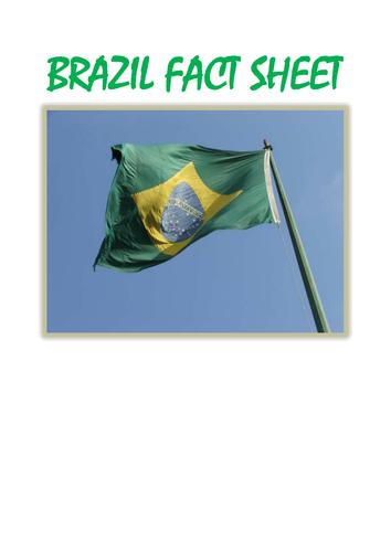 Rio Olympics  Brazil Fact Sheet