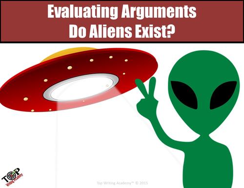 "Argument Analysis Activity ""Do Aliens Exist?"""