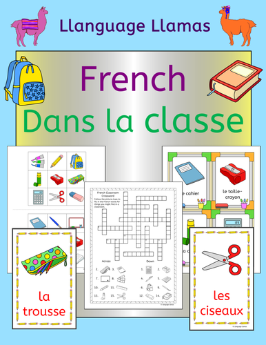 classroom instruction in french les instructions dans la classe by foxtrotters uk teaching. Black Bedroom Furniture Sets. Home Design Ideas