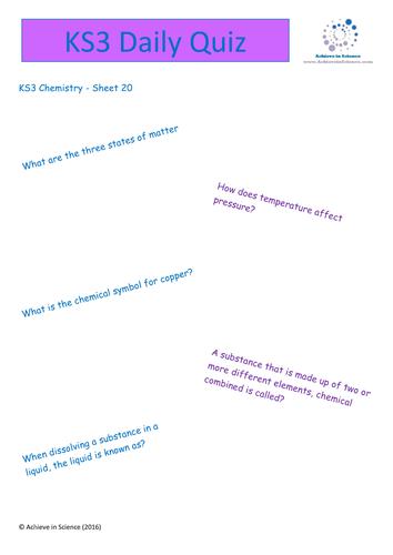 ks3 revision bundle for matter